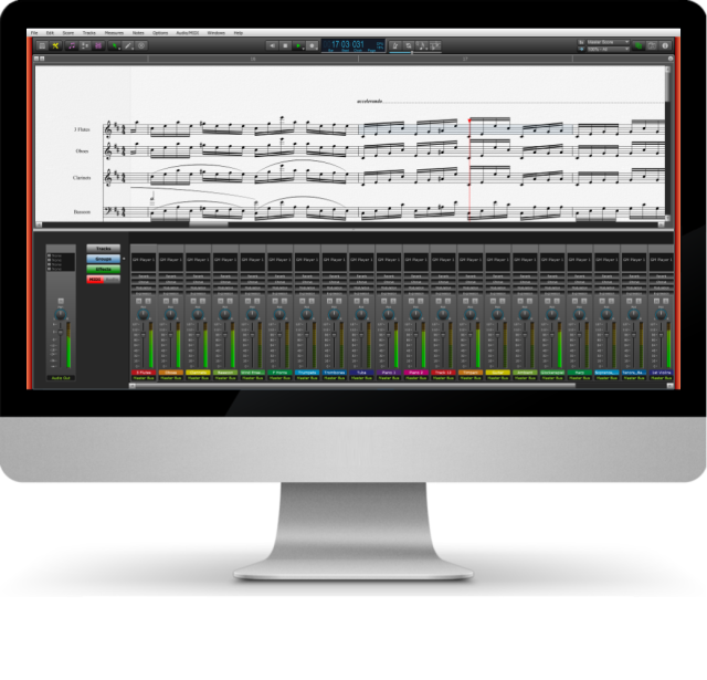 Audio/MIDI Mixer