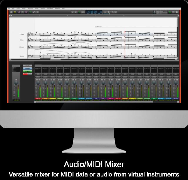 Audio/MIDI Mixer